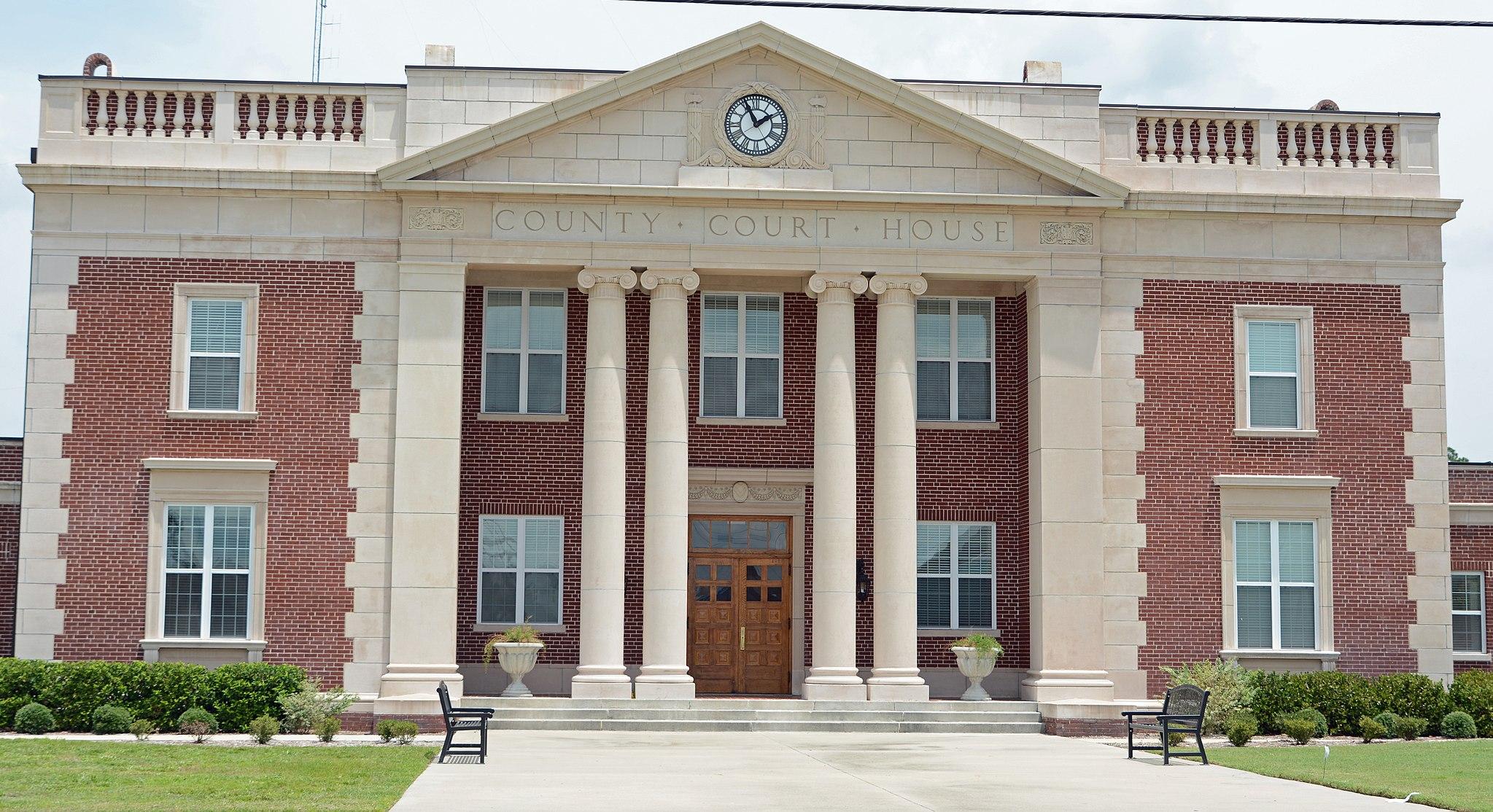Charlton County Courthouse (old), Folkston, GA, US