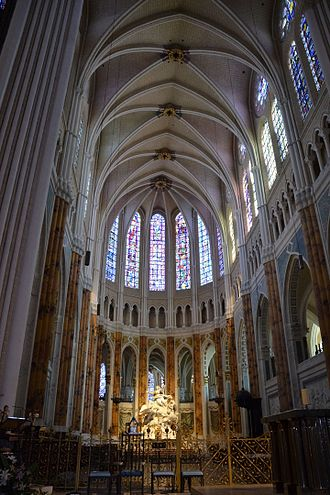 French Gothic architecture - Image: Chartres Cathédrale 16