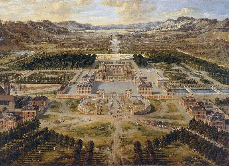Le Soleil De Versailles. fleur 800px-Chateau_de_Versailles_1668_Pierre_Patel