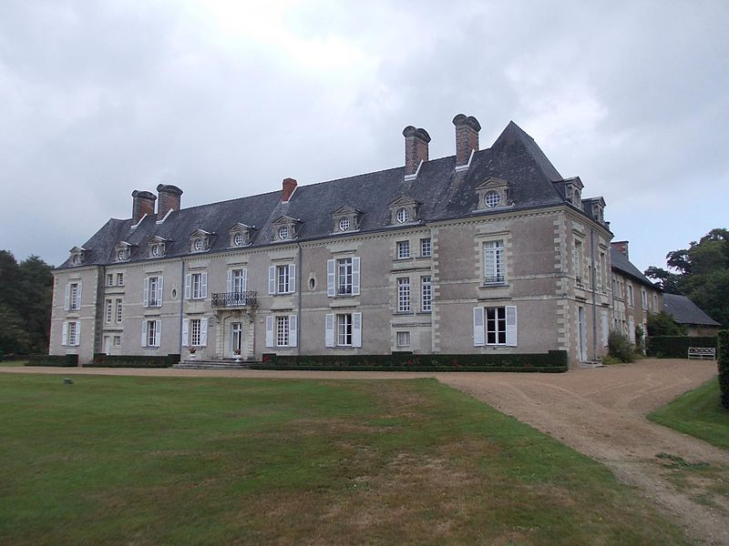 Château de l'Epinay, vue arrière