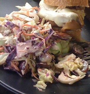 Cheese slaw Salad