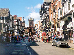 Upper Bridge Street, Chester (2002).
