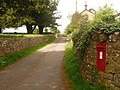 Chesterblade, postbox No. BA4 13 - geograph.org.uk - 1317727.jpg