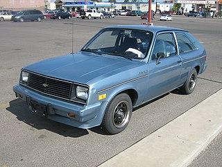 Chevrolet Chevette Front-engine, rear-drive subcompact built 1976-1987