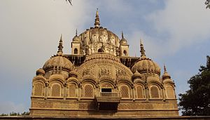 Malhar Rao Holkar - Chhatri of Malhar Rao Holkar, built by his daughter-in-law Maharani Ahilya Bai Holkar, at Alampur, Madhya Pradesh