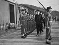 Chief of Combined Operations on Visit of Inspection. 6 March 1943, at HMS Armadilla and HMS Pascoe, Lord Louis Mountbatten Chief of Combined Operations Inspect Units of His Command. A15104.jpg