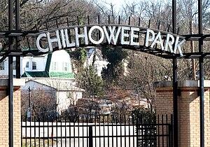 Chilhowee Park - Entrance along Magnolia Avenue