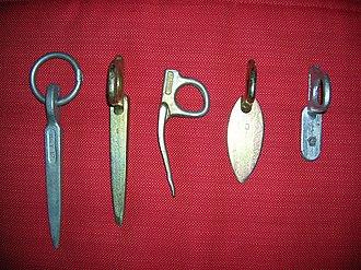 Piton - 1950's-60's mild steel pitons