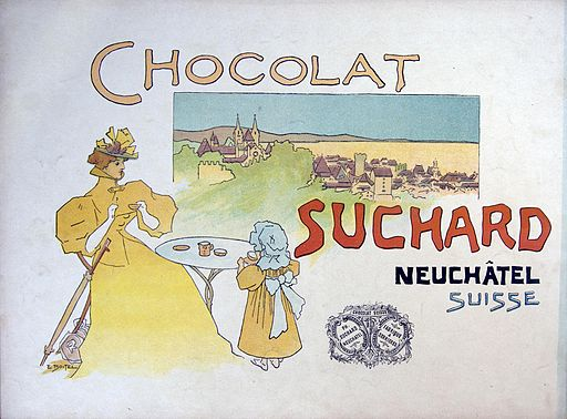 Chocolat Suchard advertising2