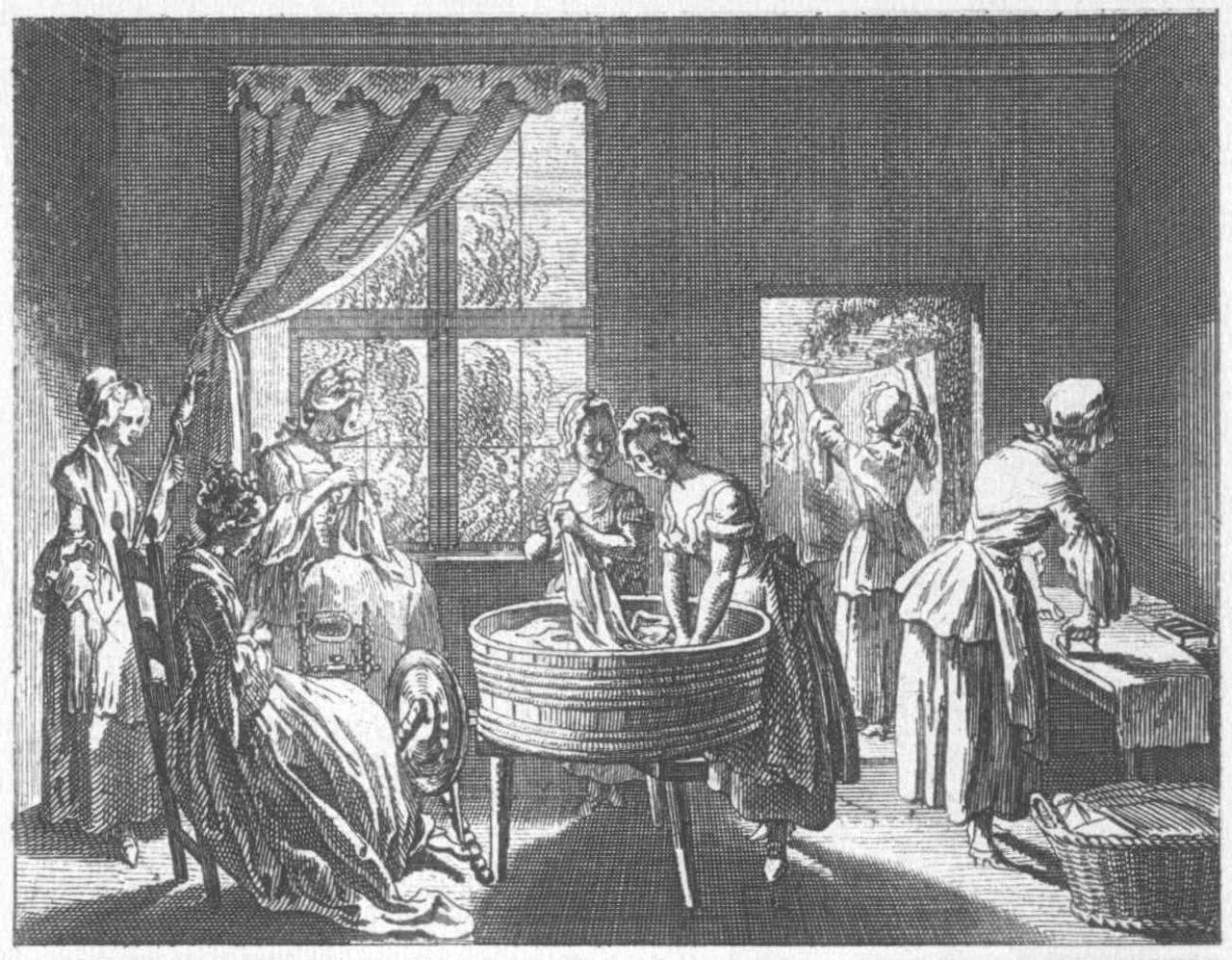 Frauenzimmer, 1774