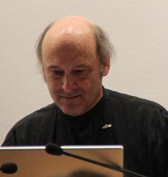 Chris Crawford (game designer) - Chris Crawford at Cologne Game Lab in 2011