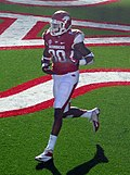 Chris Gragg while with the Arkansas Razorbacks