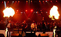 Chris Thompson, Ian Gillan, Steve Lukather, Jami Jamison, Robin Beck, 2012.jpg