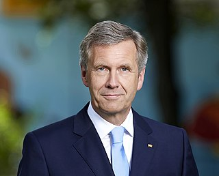 Christian Wulff 10th President of Germany