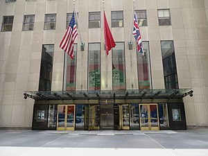Christie's - Christie's American branch in Rockefeller Center, New York