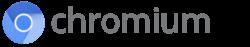 Chromium-Logo mit wordmark.png