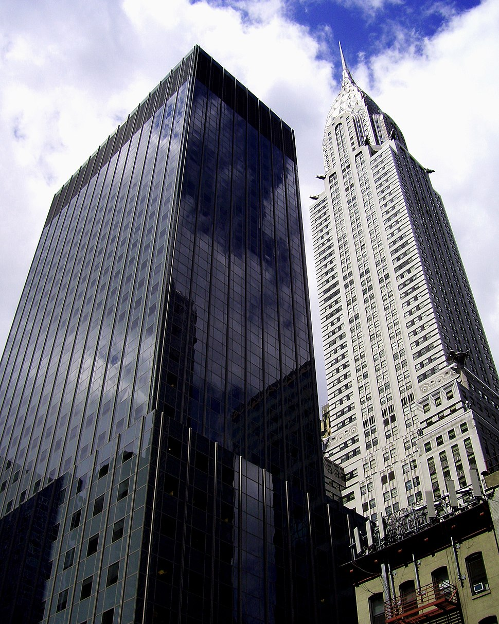Chrysler Building and Calyon Building