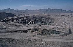Dünyanın en büyük bakır madeni Chuquicamata