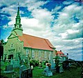 Church at St Pierre on Ile d'Orleans in the St Lawrence Seaway, Quebec, Canada - panoramio.jpg