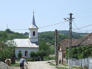 Țaga - Image: Church in Taga, Cluj County