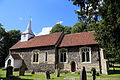 Church of St Andrew, Willingale, Essex, England - exterior chancel and nave from south.JPG
