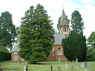 Eastern Green - The Victorian Church of St. Andrew
