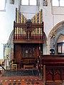 Church of St John, Finchingfield Essex England - Chancel south organ.jpg