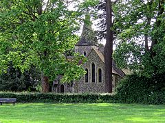 Church of the Holy Trinity, Hatfield Heath, Essex, from the northeast.jpg