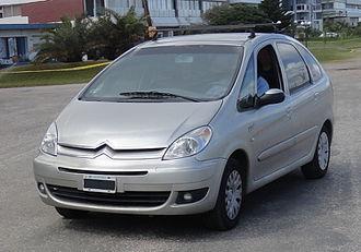 Citroën Xsara Picasso - 2007 Citroën Xsara Picasso for Latin America