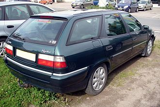 Citroën Xantia - Estate version of Xantia