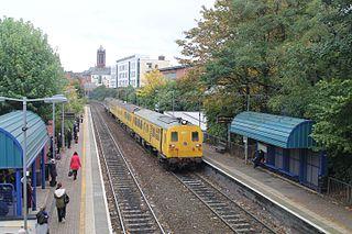 City Hospital railway station Railway station in Belfast
