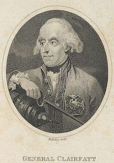 François Sébastien Charles Joseph de Croix, Count of Clerfayt Austrian marshal