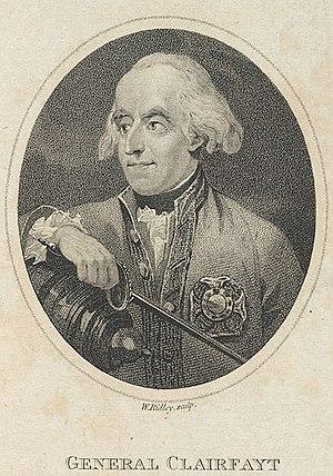 François Sébastien Charles Joseph de Croix, Count of Clerfayt - François de Croix, Count of Clerfayt