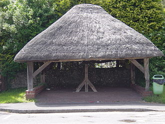Clanfield, Hampshire - Clanfield Well and Thatched Cover