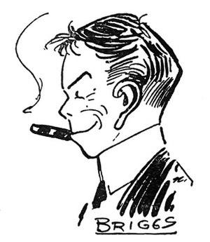 Clare Briggs - Self-caricature