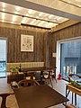 Clareau restaurant interior, windows and group tables.jpg