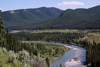 river in Alberta, Canada