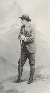 Clinton Thomas Dent British mountain climber