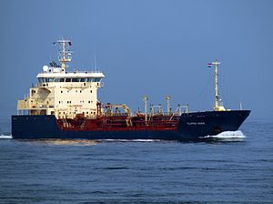 Clipper Nora IMO 9130810 at Port of Rotterdam 05April2009.jpg