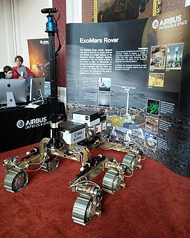 Cmglee Cambridge Science Festival 2015 ExoMars Rover.jpg