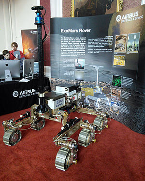 ExoMars - A prototype of the ExoMars Rover at the 2015 Cambridge Science Festival