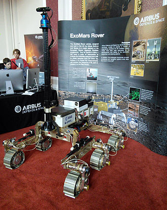ExoMars (rover) - Rover prototype at the 2015 Cambridge Science Festival