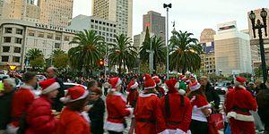 SantaCon - In San Francisco, 2014