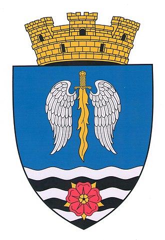 Glodeni - Image: Co A of Glodeni city (Moldova)