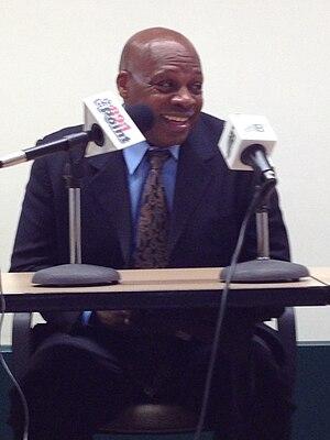 Ken Carter - Carter giving an interview in 2014
