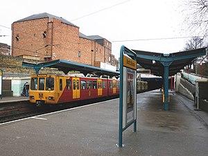 North Shields Metro station - North Shields station