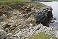 Coastline at Clave, Westing - geograph.org.uk - 1912212.jpg