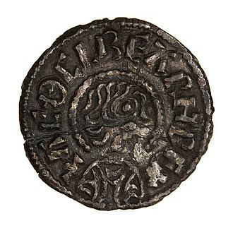 Æthelberht, King of Wessex - Coin of King Æthelberht dated c. 862