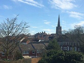 Coleshill, Warwickshire - Image: Coleshill, Warwickshire skyline