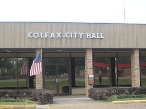 Colfax, Louisiana - Colfax City Hall